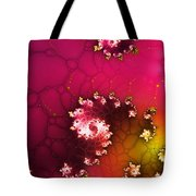 Persistent Flowers Tote Bag