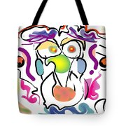 Persnickity Tote Bag