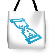 Perspective Hour Glass Tote Bag