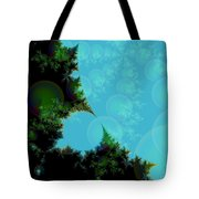 Perspective In The Forest Tote Bag