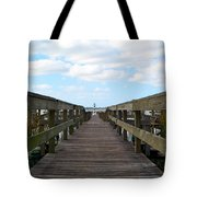 Perspective Lighthouse Tote Bag