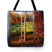 Perspective On Fall  Tote Bag