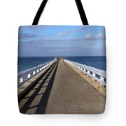 Perspective Pier Tote Bag