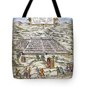Peru: Cuzco, 1572 Tote Bag