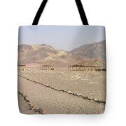Peru Nazca Bones Site Tote Bag
