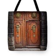 Peruvian Door Decor 10 Tote Bag