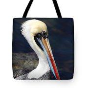 Peruvian Pelican Portrait Tote Bag