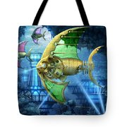 Pescatus Mechanicus Tote Bag