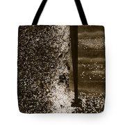 Petal Snow Tote Bag