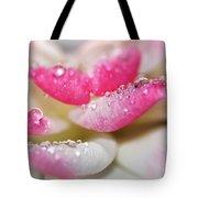 Petals And Droplets Tote Bag