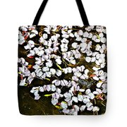 Petals In The Pond Tote Bag