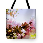 Petals In The Wind Tote Bag