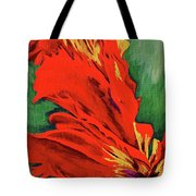 Petals Of Fire Two Tote Bag