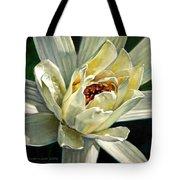 Petals Of Ivory Tote Bag