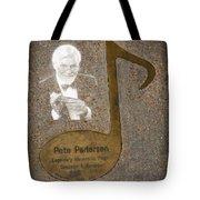 Pete Pedersen Note Tote Bag