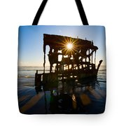 Peter Iredale Shipwreck, Fort Stevens Tote Bag