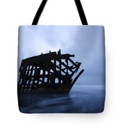 Peter Iredale Shipwreck Oregon 3 Tote Bag