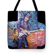 Peter Parcek Plays The Blues Tote Bag