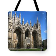 Peterborough Cathedral Tote Bag
