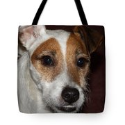 Petey Dog Jack Russell Tote Bag