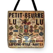 Petit- Beurre Lu Lu Tote Bag