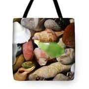 Petoskey Stones L Tote Bag by Michelle Calkins