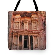 Petra Treasury Tote Bag by Tony Beck