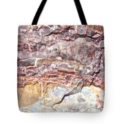 Petrified Rings Tote Bag