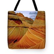 Petrified Sand Dunes The Wave Tote Bag