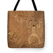 Petroglyph Wall Tote Bag