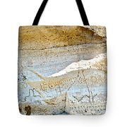 Petroglyphs At Petroglyph Point In Lava Beds Nmon-ca Tote Bag