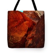 Petroglyphs Valley Of Fire Nevada Tote Bag