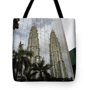 Petronas Reflecting Tote Bag