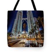 Petronas Twin Towers Tote Bag