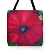 Petty Petunia Tote Bag
