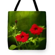 Petunia Dreams In The Woods Tote Bag