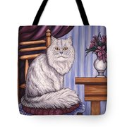 Pewter The Cat Tote Bag