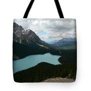 Peyote Lake In Banff Alberta Tote Bag