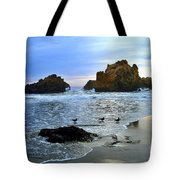 Pfeiffer Beach Big Sur Twilight Tote Bag