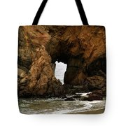 Pfeiffer Beach Rocks In Big Sur Tote Bag