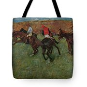 Pferderennen Vor Dem Start Tote Bag