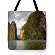 Phang Nga Bay Tote Bag