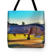 Phantom 4 Jet Vietnam Era Tote Bag