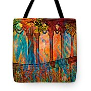 Phantom Fires Tote Bag