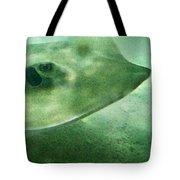 Phantom - Manta Ray Art By Sharon Cummings Tote Bag