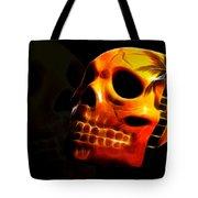 Phantom Skull Tote Bag by Shane Bechler