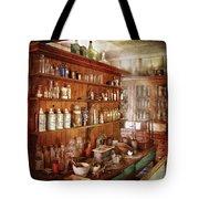 Pharmacist - Behind The Scenes  Tote Bag by Mike Savad