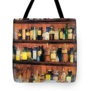 Pharmacist - Mortar Pestles And Medicine Bottles Tote Bag