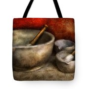 Pharmacist - Pestle And Son  Tote Bag
