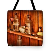 Pharmacy - A Bottle Of Poison Tote Bag